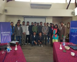 Samsung Mobile Nepal hosts Bloggers Meet