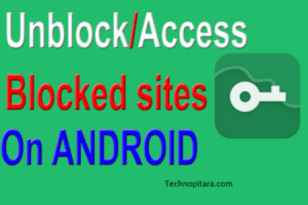 unblock websites in android devices