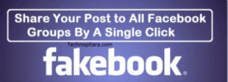 post to multiple facebook groups in a click