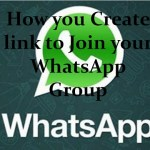 How to Create Whatsapp Group Join Invitation Link