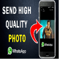 How to send picture on whatsapp without loosing quality