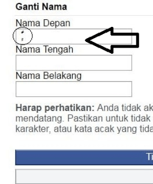 facebook invisible name without proxy in mobile