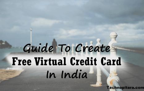 Create virtual credit card