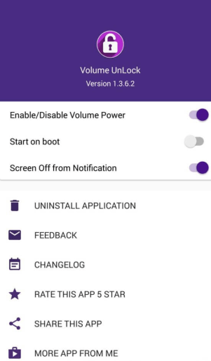 unlock screen without power button android
