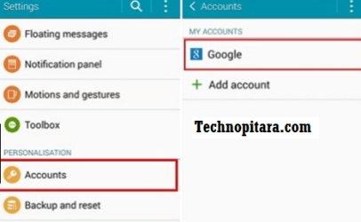 Remove and Re-add Google accounts