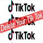 how to delete tiktok account in tamil