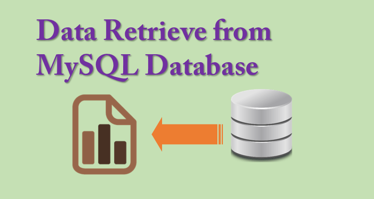 Retrieve the data from mysql database using php