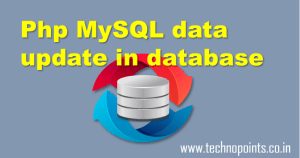 php MySQL data update tutorial