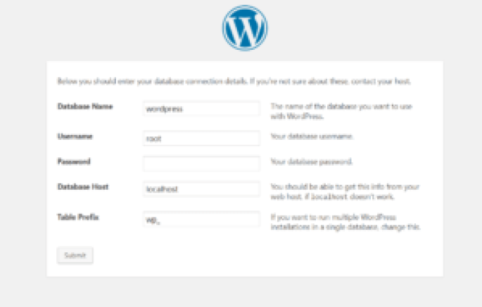 Installation of WordPress on local server tutorial