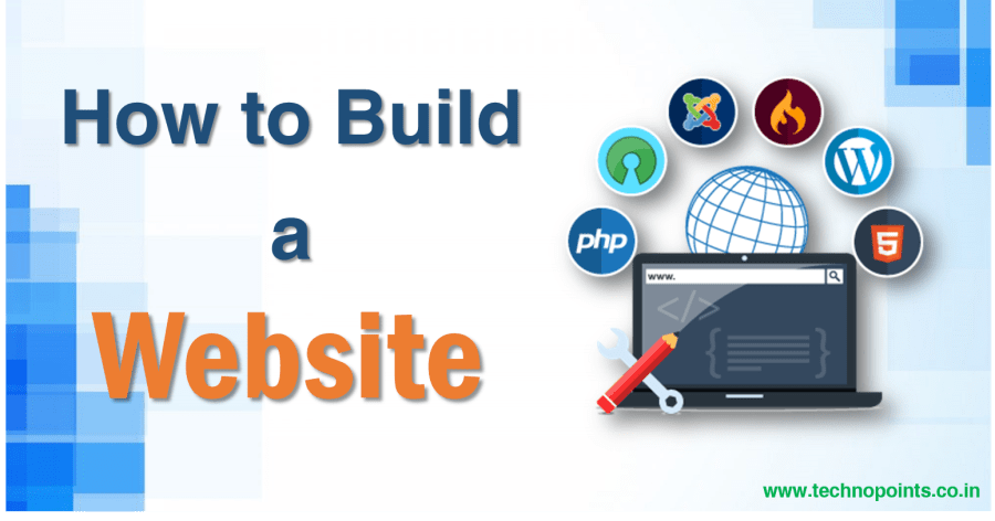How to build a website
