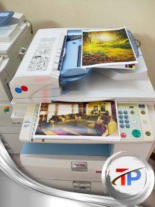 ماكينة تصوير ريكو MP C2550 لطباعة المستندات الألوان Ricoh MP C2550