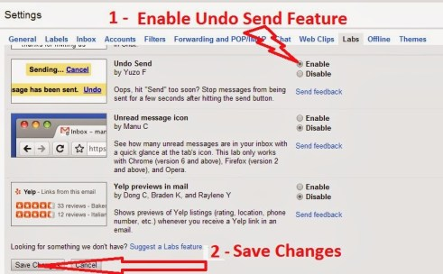 sent mail in gmail