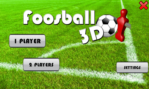 3D Foosball Game for Android
