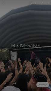 Convert Live Photos to Boomerang in Instagram Story