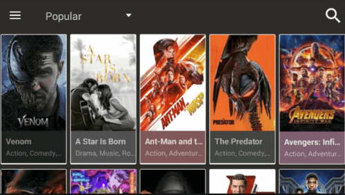 Cinema APK movie streaming app for Firestick