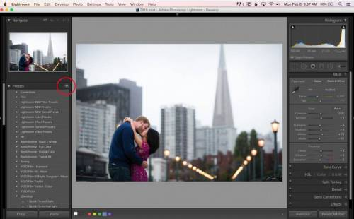 Create custom presets & apply on import feature in lightroom