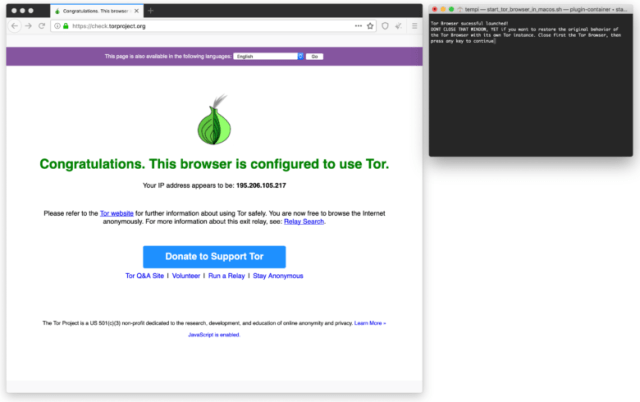 Torbrowser to browse securely