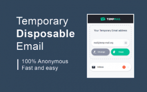 Tempmail- temporary disposable Email