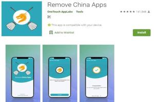 Remove China Apps- Chinese Apps Alternatives