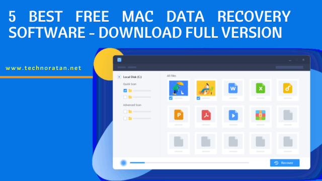 5 Best Free Mac Data Recovery Software - Download Full Version