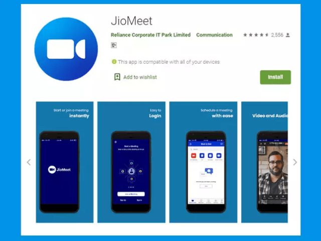 Reliance Jio Meet Video Conferencing app