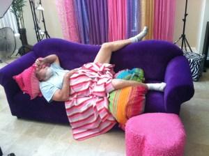 john draper sleeping on the couch