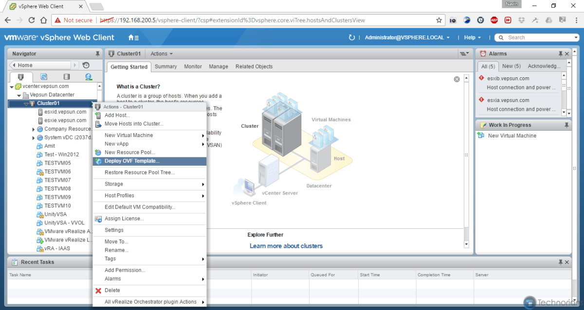 Vmware Vrealize Orchestrator 7 Part 1 Deploy Ovf