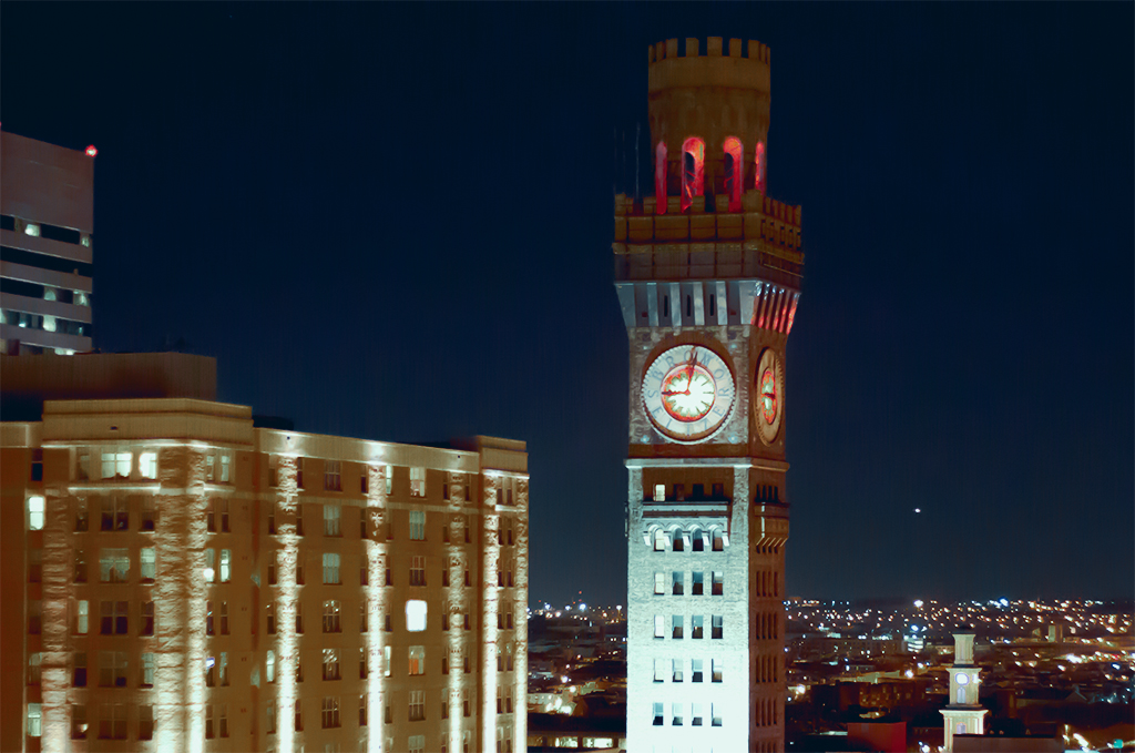 Bromo Tower in Baltimore
