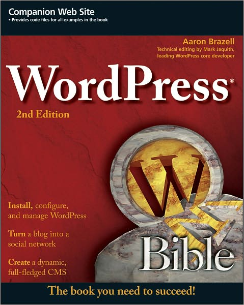 Pre-order WordPress Bible: 2nd Edition