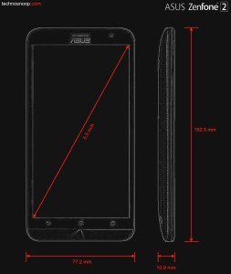 blueprint ASUS zenfone 2