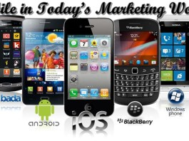 Mobile in marketing world