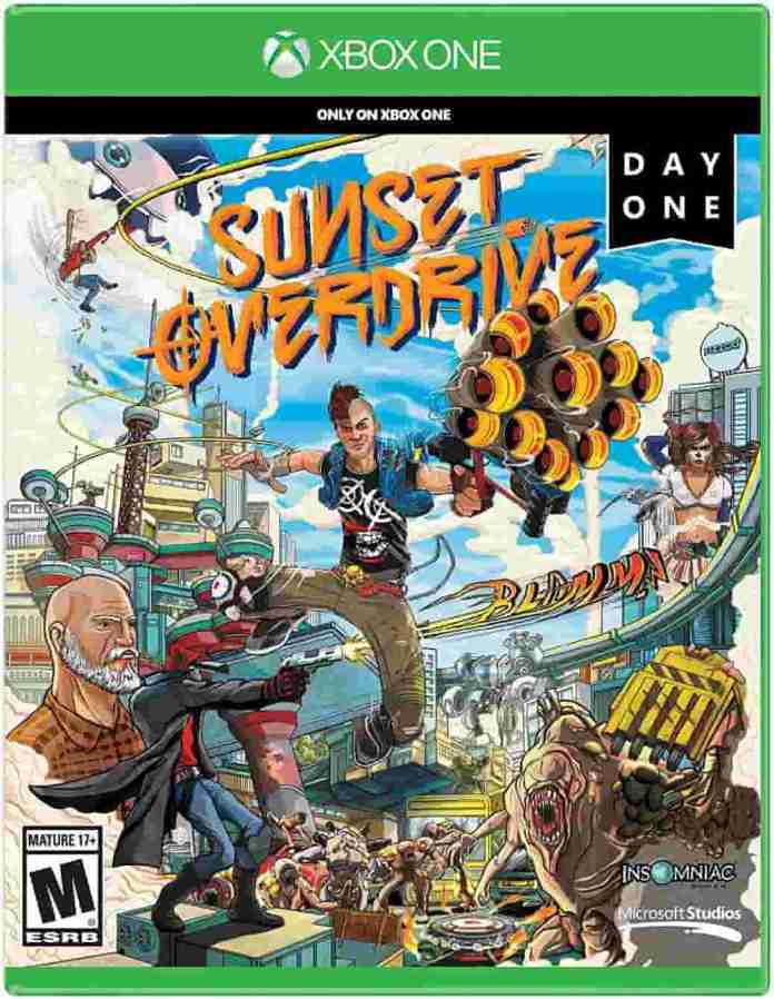 Sunset Overdrive Xbox one game