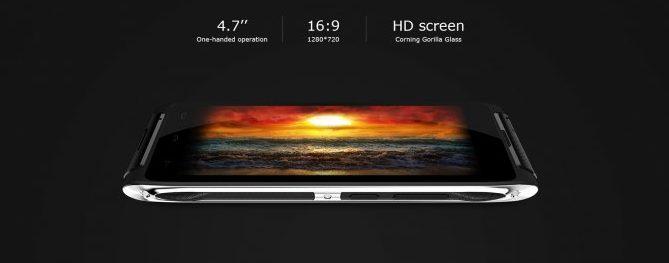 """4.7"""" inch HD Screen in HT20"""