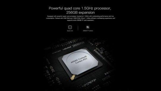 MediaTek MT6737T Quad-core processor