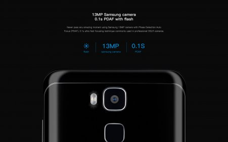13 MP Rear and 8 MP front Camera
