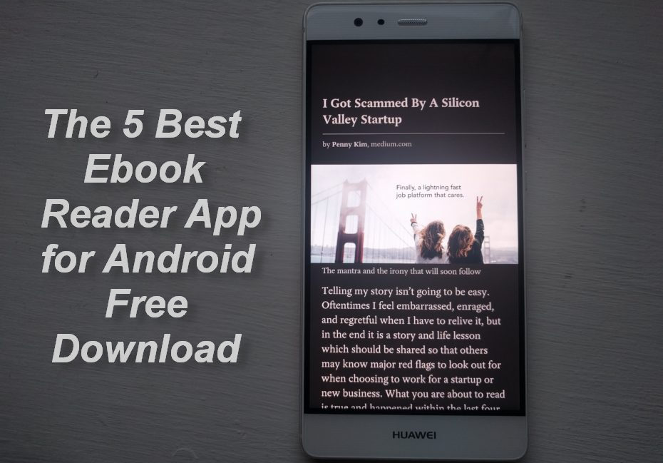 The 5 Best Ebook Reader App For Android Free Download Every