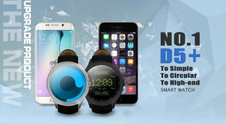 No.1 D5+ Smartwatch Review