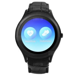 Heartrate and Pedometer Features in No.1 D5+ Smartwatch