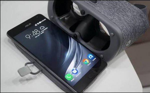 Google's Tango and Daydream Asus Zenfone AR
