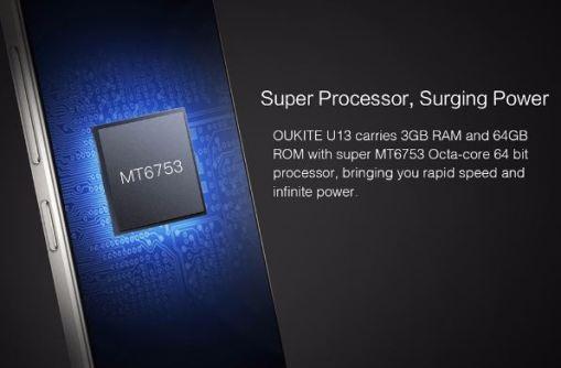 Oukitel U13 hardware