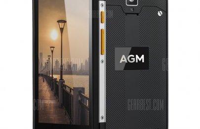 Design Reviews of AGM A8 Smartphone