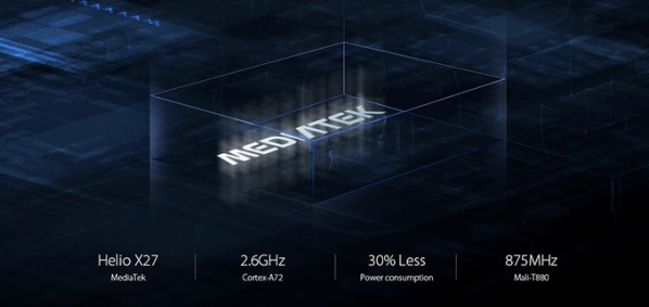 Helio X27 Octa-core Processor