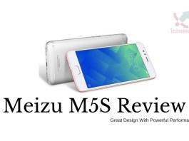 MEIZU M5S 4G Smartphone Review