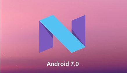 android 7.0 Nought in CUBOT RAINBOW 2