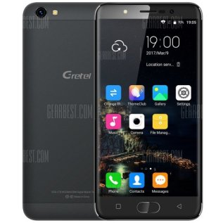 Front and back look of Gretel A9 Smartphone