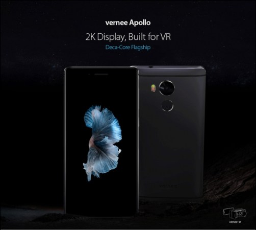 Vernee Apollo 4G Phablet 2K Display