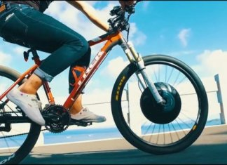 UrbanX Electric Wheel Bycycle