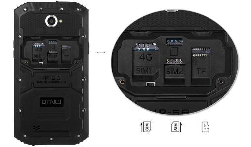 Dual sim Phone+ TF Card Slot