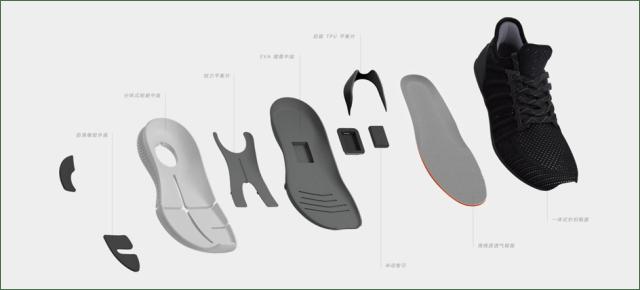 XIAOMI MIJIA SMART SHOES Design
