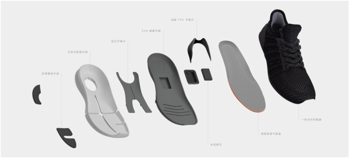 XIAOMI MIJIA SMART SHOES Design